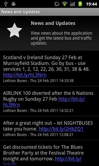 Find My Bus Edinburgh - download.cnet.com